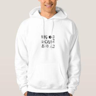 Hoodie de Chun Kung Fu da asa - L1L Moletom Com Capuz