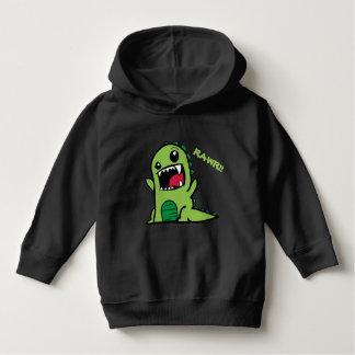 Hoodie de Dino da criança Moletom