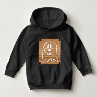 Hoodie de madeira 1 do pulôver da criança do 鬼鬼 do