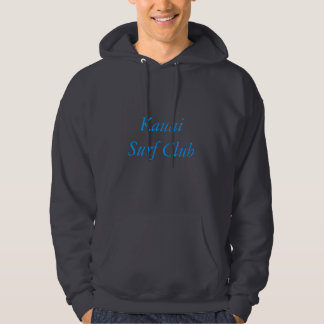 Hoodie do clube do surf de Kauai Moleton Com Capuz