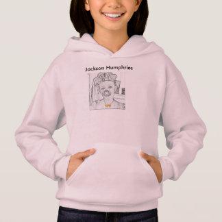 Hoodie do desenho de Jackson Humphries das meninas
