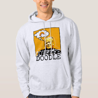 Hoodie do Doodle de Covfefe do trunfo para homens Moletom