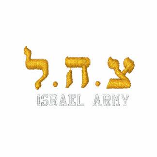 Hoodie do exército de Israel - IDF - Tzahal no Moletom Com Capuz Pulôver Bordado Feminino
