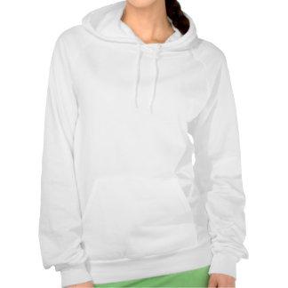 Hoodie do logotipo das mulheres moleton com capuz