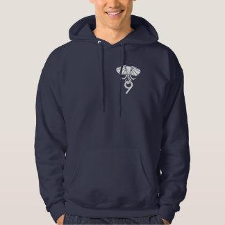 Hoodie do marinho Postgres9 Moletom