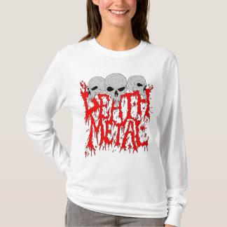 Hoodie do metal da morte camiseta