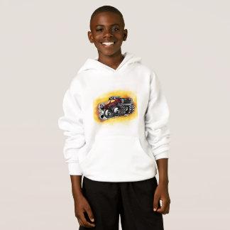 Hoodie do monster truck para meninos