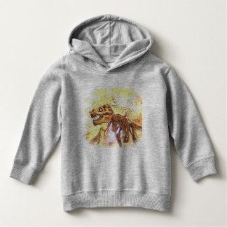 Hoodie do pulôver da criança de T-Rex Camisetas