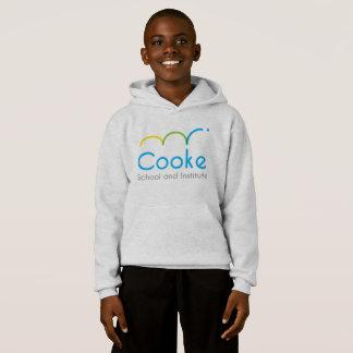 Hoodie do pulôver de Cooke dos MIÚDOS, cinza