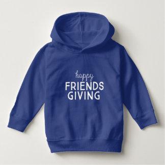 """""""Hoodie do pulôver de Friendsgiving feliz"""" da"""