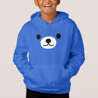 Hoodie do pulôver do velo do urso de ursinho do