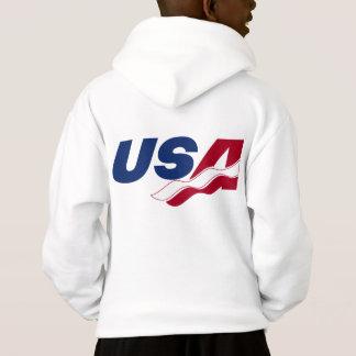 Hoodie do Racquetball dos EUA da equipe de Esprit
