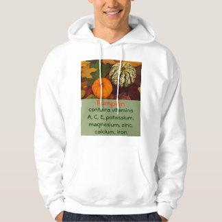 hoodie dos homens da abóbora moletom com capuz
