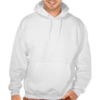 hoodie dos homens do cappuccino moletom bordado