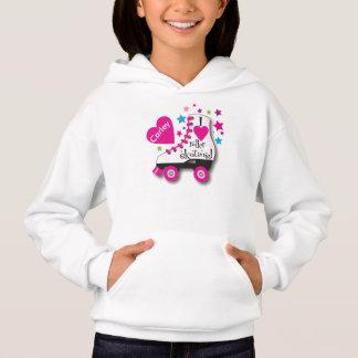 Hoodie personalizado do skate de rolo