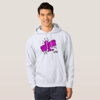 Hoodie roxo do cinza de cinza de DreamySupply Moletom