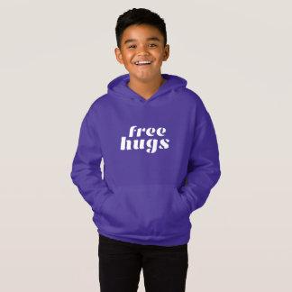 Hoodies do pulôver dos miúdos livres dos abraços