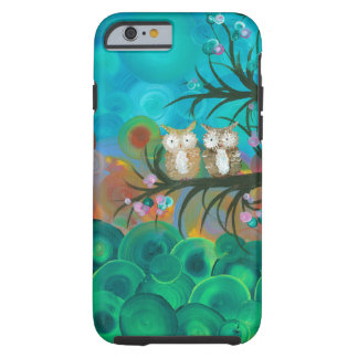Hoolandia (c) 2013 - casais da coruja capa tough para iPhone 6