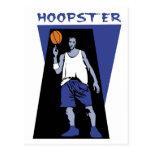 Hoopster Cartão Postal