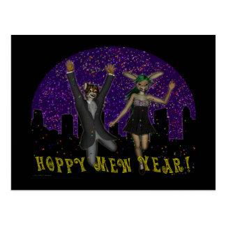 Hoppy Mew o cartão do ano