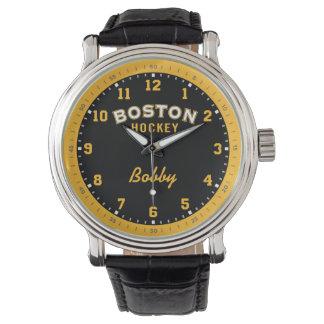 Hóquei 1 de Boston/2 - relógio da hora da hora