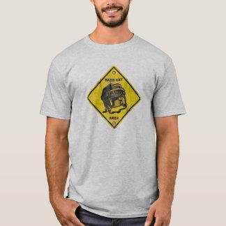 Hóquei: Área do capacete de segurança Camiseta
