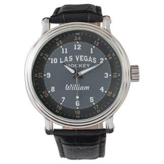 Hóquei de Las Vegas 24 relógios da hora