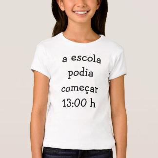 Horário escolar tshirt