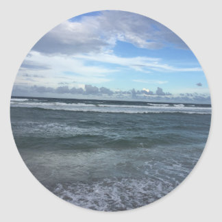 Horizonte da praia adesivo