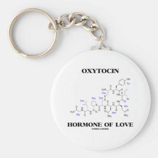 Hormona do Oxytocin do amor (química) Chaveiro