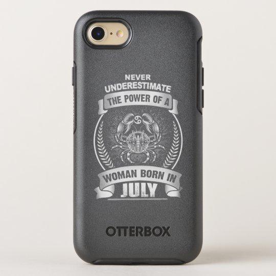 Horóscopo julho capa para iPhone 7 OtterBox symmetry