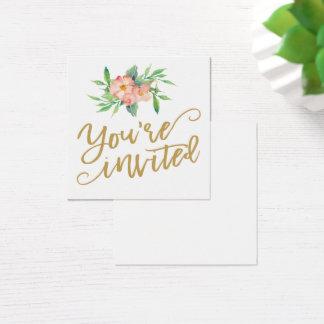 Hortaliças & cartão floral da placa conhecida do