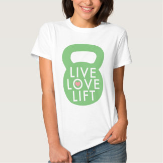 "Hortelã ""elevador vivo do amor "" tshirt"