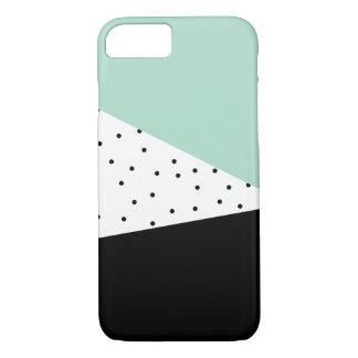 Hortelã moderna e capas de iphone pretas