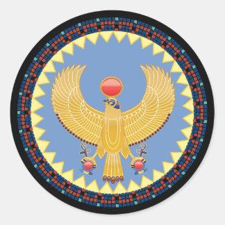 Horus, deus dos reis na etiqueta de Egipto antigo
