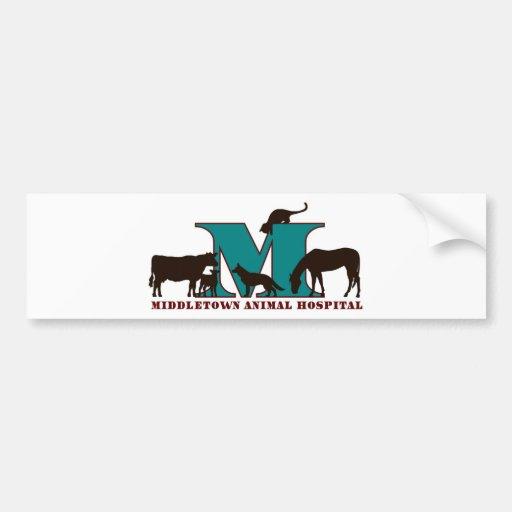 Hospital de animais de Middletown Adesivos