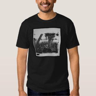 Hospital de campanha americano da guerra civil da tshirt