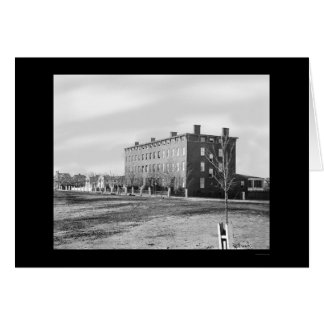 Hospital de Douglas em Washington, C.C. 1864 Cartão Comemorativo