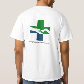 Hospital do animal de estimação da costa do lago - camiseta
