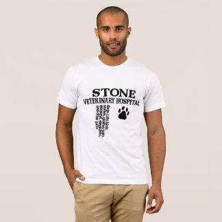 Hospital veterinário de pedra camiseta