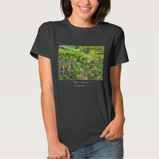 Hospital Vincent van Gogh de St Paul do jardim do T-shirt
