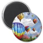 Hot Air Balloons Magneet