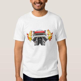 Hot rod louco de Chevrolet T-shirts