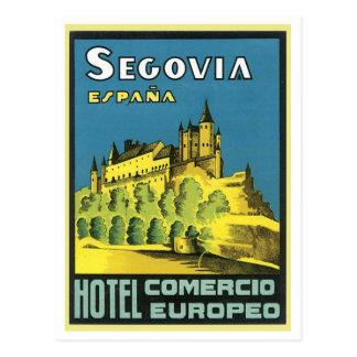 Hotel Comercio Europeo de Segovia Espana Cartão Postal