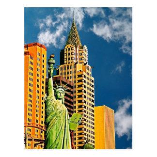 Hotel de New York, New York, Las Vegas, cartão