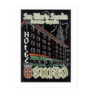Hotel de San Hilario Sacalm Cartão Postal