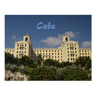 Hotel Nacional em Havana, Cuba Cartão Postal