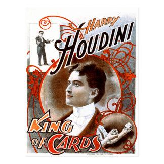 Houdini - rei dos cartões