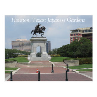 Houston, Texas: Jardins japoneses - cartão