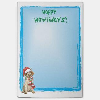 Howlidays feliz Griffon Post-it Notes